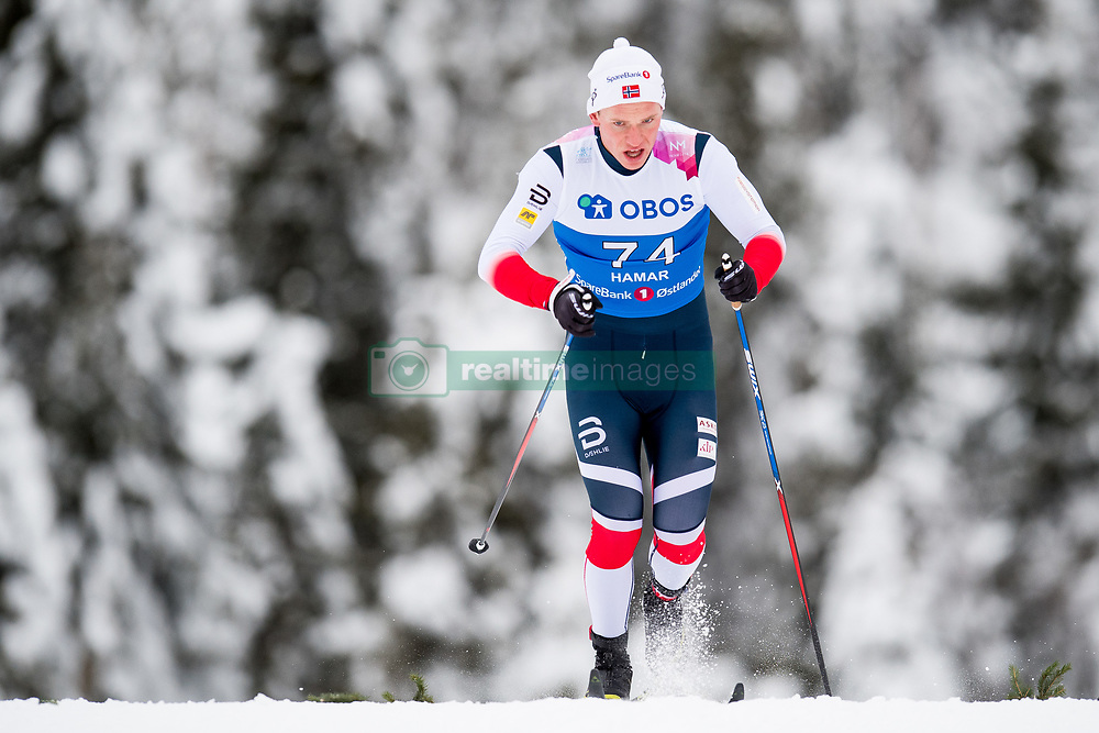 January 11, 2018 - GSbu, NORWAY - 180111 Sindre GrÂ¿nflaten competes in the men's sprint classic technique qualification during the Norwegian Championship on January 11, 2018 in GÅ'sbu..Photo: Jon Olav Nesvold / BILDBYRN / kod JE / 160127 (Credit Image: © Jon Olav Nesvold/Bildbyran via ZUMA Wire)
