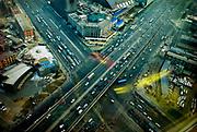 Traffic in Beijing, China, on monday 14. jan, 2008
