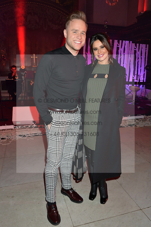***UK_MAGAZINES_OUT***<br /> <br /> LONDON, ENGLAND 29 NOVEMBER 2016: Olly Murs, Cheryl at the Fayre of St James's hosted by Quintessentially Foundation and the Crown Estate in aid of Cheryl's Trust in support of The Prince's Trust held at St.James's Church, Piccadilly, London, England. 29 November 2016.