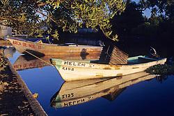 Boat On San Jose Waterway