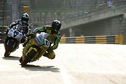 Mark Miller at the Macau GP Macau GP, China.