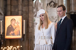 Ivanka Trump and Jared Kushner during a tour of Westminster Abbey in central London, on day one of US President Donald Trump's state visit to the UK.
