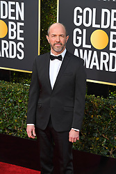 January 6, 2019 - Los Angeles, California, U.S. - Jan 6, 2019 - Beverly Hills, California, U.S. - Eric Lange from Escape at Dammemora during red carpet arrivals for the 76th Annual Golden Globe Awards at The Beverly Hilton Hotel..(Credit: © Kevin Sullivan via ZUMA Wire) (Credit Image: © Kevin Sullivan via ZUMA Wire)
