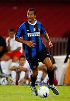 Fotball<br /> Italia<br /> Foto: Inside/Digitalsport<br /> NORWAY ONLY<br /> <br /> Napoli 11/8/2006 <br /> Trofeo Birra Moretti tra Napoli Juventus Inter. <br /> Vittoria della Juventus sul Napoli<br /> <br /> Aparecido Rodriguez Cesar Inter