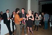 CONRAD SHAWCROSS; PETROC SESTI, Art Plus Music Party 2010. Whitechapel art Gallery.  To raise money for the gallery';s education and community programme. 22 April 2010.