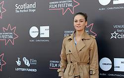 Edinburgh International Film Festival, Thursday, 21st June 2018<br /> <br /> Juror's Photocall<br /> <br /> Pictured: Sophie Skelton<br /> <br /> (c) Aimee Todd | Edinburgh Elite media