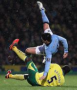 Norwich City v Manchester City 291212