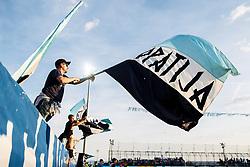 Fans of HNK Rijeka during football match between HNK Rijeka and HNK Cibala in Round #35 of 1st HNL League 2016/17, on May 21st, 2017 in Rujevica stadium, Rijeka, Croatia. Photo by Grega Valancic / Sportida