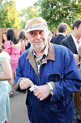 DAVID BAILEY at the annual Serpentine Gallery Summer party this year sponsored by Jaguar held at the Serpentine Gallery, Kensington Gardens, London on 8th July 2010.  2010 marks the 40th anniversary of the Serpentine Gallery and the 10th Pavilion.