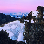High up in the Cascade Range in North Cascades National Park, WA.
