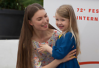 Actress Cristina Chiriac and Anna Ferrara at Tommaso film photo call at the 72nd Cannes Film Festival, Monday 20th May 2019, Cannes, France. Photo credit: Doreen Kennedy