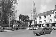 The Ha-Ha januting car stand leading to Main Street Killarney in the 1980's with The International and Ross Hotels.<br /> Photo: macmonagle.com archive<br /> <br /> Killarney Now & Then - MacMONAGLE photo archives.<br /> Facebook - @killarneynowandthen