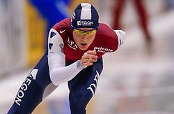 5-01-2003 NED: Europees Kampioenschappen Allround, Heerenveen<br /> 10000 m / Ralf van der Rijst