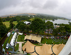 Party at the Palace 2019 from the ferris wheel.