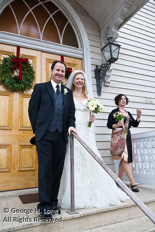 The wedding of Michelle Ueland and Michael Roy