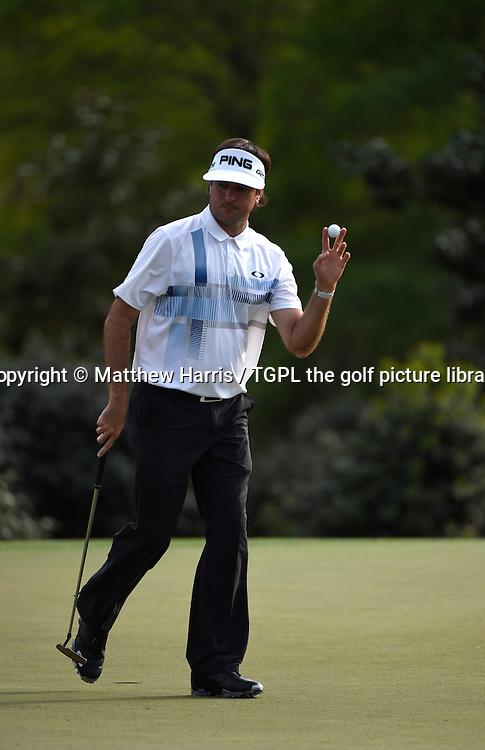 Bubba WATSON (USA) during fourth round US Masters 2014,Augusta National,Augusta, Georgia,USA.