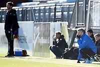 Fotball , 18. mars 2017 ,  Privatkamp , Strømsgodset - Sogndal 5-0<br /> trener Eirik Bakke , Sogndal<br /> trener Tor Ole Skullerud , SIF