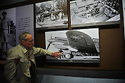 KUNMING, CHINA - SEPTEMBER 06: (CHINA OUT)<br /> <br /> Flying Tiger Veterans Visit The Cultural Relics Exhibition Of The Flying Tigers In Kunming<br /> <br />  A Flying Tiger veteran visits The Cultural Relics\' Exhibition of the Flying Tigers at Kunming Museum on September 6, 2015 in Kunming, Yunnan Province of China. <br /> <br /> The 1st American Volunteer Group (AVG) of the Chinese Air Force in 1941–1942, nicknamed the Flying Tigers, was composed of pilots from the United States Army Air Corps (USAAC), Navy (USN), and Marine Corps (USMC), recruited under presidential authority and commanded by Claire Lee Chennault. The shark-faced nose art of the Flying Tigers remains among the most recognizable image of any individual combat aircraft or combat unit of World War II.<br /> ©Exclusivepix Media