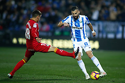 December 7, 2018 - Madrid, Madrid, Spain - Siovas of Leganes during the spanish championship La Liga football match played between CD Leganes and Getafe at Estadio Municipal Butarque in Leganes, Madrid, Spain. Dic 07th 2018. (Credit Image: © AFP7 via ZUMA Wire)