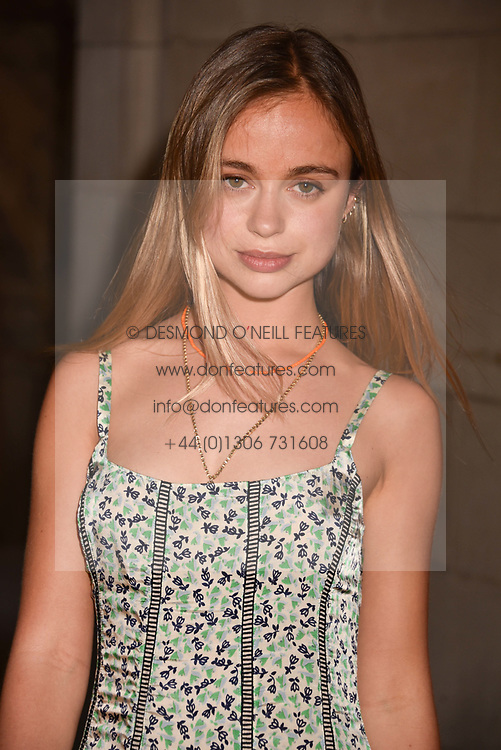 Lady Amelia Windsor at Fashioned From Nature held at The V&A Museum, London, England. 18 April 2018.