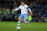 Adam Reach of Sheffield Wednesday in action. EFL Skybet championship match, Cardiff city v Sheffield Wednesday at the Cardiff city stadium in Cardiff, South Wales on Wednesday 19th October 2016.<br /> pic by Andrew Orchard, Andrew Orchard sports photography.