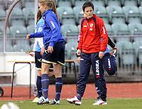 Fotball<br /> Norge<br /> 21.04.2012<br /> Foto: Morten Olsen, Digitalsport<br /> <br /> Toppserien kvinner<br /> <br /> Stabæk v Sandviken<br /> <br /> Vanja Stefanovic - assistenttrener Stabæk
