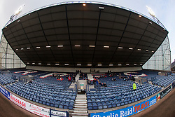 South Stand at Stark's Park, the home ground of Scottish football team, Raith Rovers F.C.