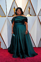 Red carpet arrivals at the 90th Academy Awards Ceremony at the Dolby Theatre in Los Angeles, California. 04 Mar 2018 Pictured: Octavia Spencer. Photo credit: Jaxon / MEGA TheMegaAgency.com +1 888 505 6342