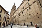 Spanje, Salamanca, 10-5-2010De universiteit van Salamanca wordt door veel buitenlandse studenten bezocht. Pontifica, universidad.Foto: Flip Franssen/Hollandse Hoogte