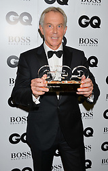TONY BLAIR winner of the Philanthropist Award at the GQ Men Of The Year 2014 Awards in association with Hugo Boss held at The Royal Opera House, London on 2nd September 2014.