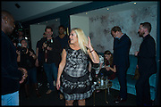 VANESSA FELTZ, Memphis, The Musical. Press night and after party. Shaftesbury Theatre, London WC2 and party at Floridita, Wardour st. Soho.