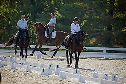 Devroe Jeroen (BEL) - Apollo van het Vijverhof<br /> Fassaert Claudia (BEL) - Withney vh Genthof<br /> Jorissen Philippe (BEL) - Le Beau<br /> Alltech FEI World Equestrian Games <br /> Lexington - Kentucky 2010<br /> © Dirk Caremans