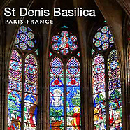 Photos of Saint Denis Basilica, Paris France