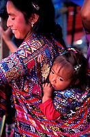 Guatemala. Marche hebdomadaire de Solola. // Guatemala. Wekly market of Solola.