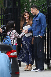 "Sofia Vergara and Joe Manganiello start filming together for the first time their upcoming movie project ""STANO"" in Queens, NY . ""STANO"" tells the story about a young rising star ball player ( Manganiello ) with the Yankees who lands himself in prison for a terrible accident. When Stano gets out of prison after 17 years of being behind bars and trying to stay alive, he returns to society and the love of his life ( Vergara ). 25 Jul 2017 Pictured: Sofia Vergara and Joe Manganiello. Photo credit: LRNYC / MEGA TheMegaAgency.com +1 888 505 6342"