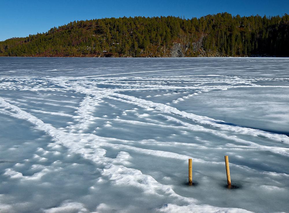 Norway - Frozen lake