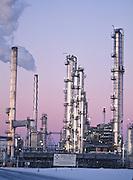 Alaska, OIl refinery in the Nikiski area of the Kenai Peninsula.