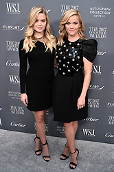 Ava Phillippe and Reese Witherspoon attend the WSJ. Magazine 2017 Innovator Awards at MOMA in New York, NY, on November 1, 2017. (Photo by Steven Ferdman/Sipa USA)