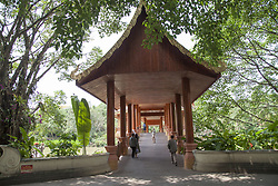 July 4, 2018 - Jinghong, Jinghong, China - Jinghong, CHINA-Scenery of Manting Park in Jinghong, south China's Yunnan Province. (Credit Image: © SIPA Asia via ZUMA Wire)