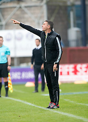 Ross County's manager Jim McIntrye, Dundee 1 v 1 Ross County, SPFL Ladbrokes Premiership played 13/5/2017 at Dens Park.