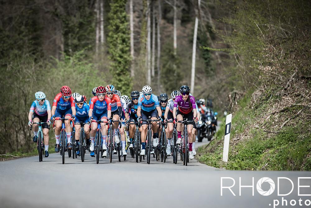 peloton<br /> <br /> Ceratizit Festival Elsy Jacobs (LUX) 2021<br /> UCI Women Elite 2.1<br /> Day 2 – stage : Steinfort >Steinfort 125.1km  <br /> <br /> ©RhodePhoto