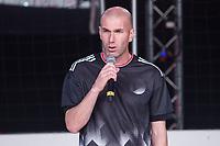 Real Madrid's coach Zinedine Zidane during the presentation of the new Adidas football boots in Madrid , Spain. December 08, 2016. (ALTERPHOTOS/Rodrigo Jimenez)