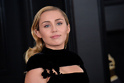 Miley Cyrus attends the 60th Annual GRAMMY Awards at Madison Square Garden on January 28, 2018 in New York City, NY, USA. Photo by Lionel Hahn/ABACAPRESS.COM
