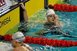 07-12-2008 ZWEMMEN: SWIMCUP: EINDHOVEN<br /> Lia Dekker op de 100 m schoolslag<br /> ©2008-WWW.FOTOHOOGENDOORN.NL