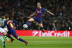 December 5, 2017 - Barcelona, Catalonia, Spain - IVAN RAKITIC of FC Barcelona during the UEFA Champions League, Group D football match between FC Barcelona and Sporting CP on December 5, 2017 at Camp Nou stadium in Barcelona, Spain. (Credit Image: © Manuel Blondeau via ZUMA Wire)
