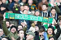 01/02/15 SCOTTISH LEAGUE CUP SEMI-FINAL<br /> CELTIC v RANGERS<br /> HAMPDEN - GLASGOW<br /> Celtic fans