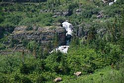 Virginia Falls, Glacier National Park, Montana, US