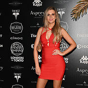Victoria Brown attend the Official launch party for the annual Gumball 3000 Rally took place at Proud Embankment on August 4 2018, London, UK.