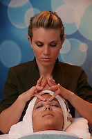 Launch of Royal Caribbean International's newest ship Allure of the Seas..Vitality At Sea Spa. Facial.