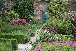 The Rose Garden at Sissinghurst Castle